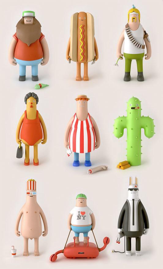 Yum Yum - Personajes