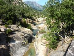 Entre la vasque initiale du Finicione et la confluence Quercitella : vues diverses