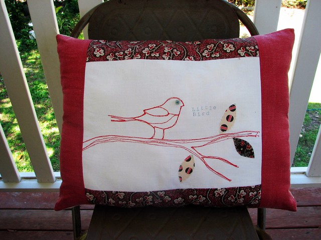 Little Bird Pillow