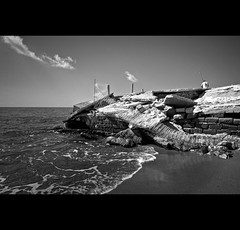 the house in the sea  () Tags: sea casa blackwhite interestingness mare tokina explore spiaggia mafia biancoenero pescatore caserta camorra crollo abusivismo bagnara macerie mareggiata explored castelvolturno mondragone edilizio erosione gomorra 1116mm robertosaviano pescopagano vincenzopapa sergionazzaro