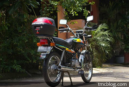 Si Kurus 2 . . . Honda MCB Win 2002, Welcome to the family