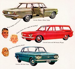 1961 Chevrolet Corvair Monza, Lakewood & 700 (aldenjewell) Tags: chevrolet sedan ad lakewood 700 1961 corvair monza clubcoupe