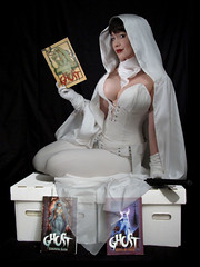 Ghost (BelleChere) Tags: comics costume cosplay ghost superhero adamhughes darkhorse bellechere darkhorsecomics