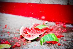 Watermelon Kaboom!! (ShuttrKing|KT) Tags: water crash kaboom watermelon bust burst splash pow melon blast splatter breaking splat watermellon blasting