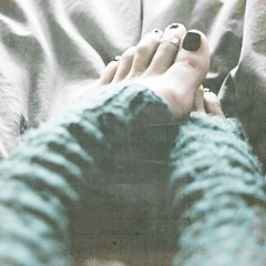 winter longing (::fotorosso::) Tags: woman selfportrait green texture feet me girl rain socks self square 50mm toes soft rainyday snuggly lesbrumes 525oftwentyten 525of2010 glovesassocks yearningforthethecoolertemperaturesjustaroundthecorner