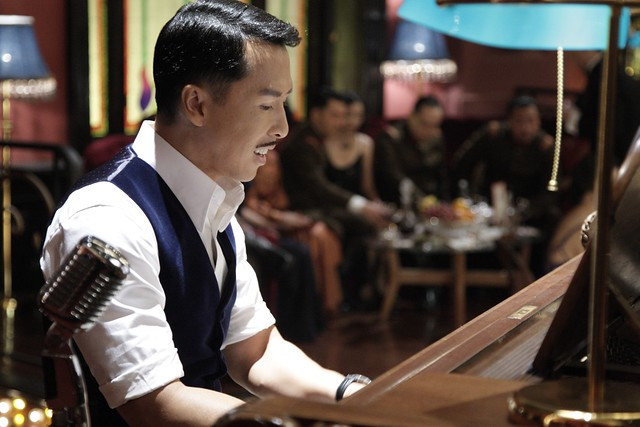 Donnie Yen as a French-Chinese playboy businessman
