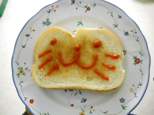 Cutest grilled cheese - ever.