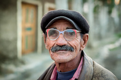 One eyed Tajik man with beret cap (damonlynch) Tags: people hat fashion outside outdoors person glasses clothing asia village adult blind outdoor hats clothes health human jacket cap land tajikistan tajik coats eyeglasses beret adults centralasia humanbeing leatherjacket humans lid apparel blindness conditions humanbeings pamirs attire condition centralasian healthiness 3055yearsold ishkashim pamiri gbao pamirmountains gornobadakhshanautonomousprovince healthconditions badakhshani healthcondition kuhistonibadakhshon kohistanbadakhshan mountainousbadakhshan viloyatimukhtorikuhistonibadakhshon