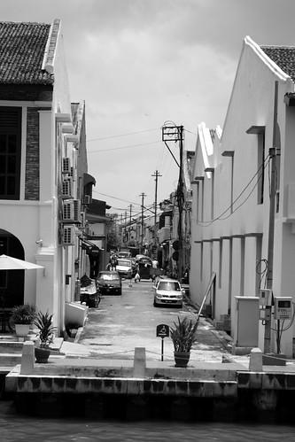 Small alley, Melaka Malaysia