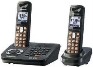 Panasonic KX-TG6442T DECT 6.0 Expandable Cordless Phone