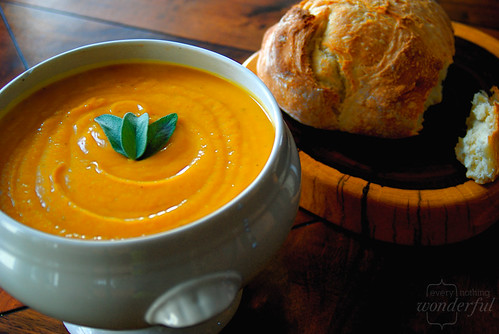 Fall Soup - Pumpkin Squash