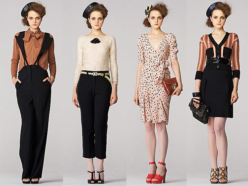 Absolutely loving the references to the fashions and styles from the