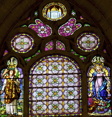 Catedral de San Antolin-Palencia (Paco Barranco) Tags: vidrieras palencia antolin espana