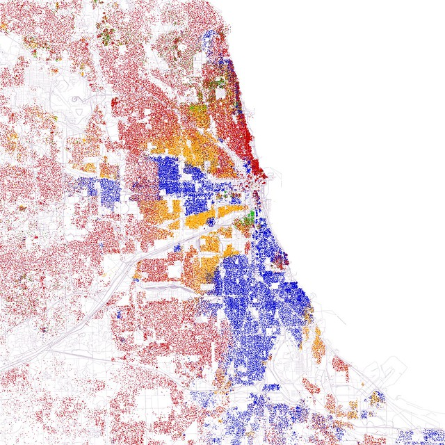 Fischer's Chicago in primary colors