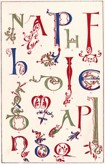 3. (Double--M) Tags: typography letters illumination ornaments type lettering calligraphy initials alphabets 1860 illuminating decorativewriting wrtymms