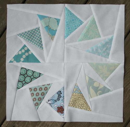 Circle of Geese block for Colleen
