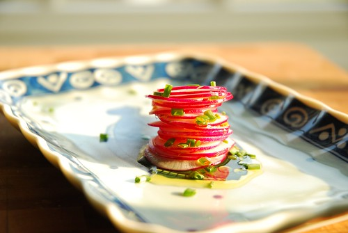 Radish and Chive Salad