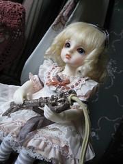 Little Alice 17 (cammyclaudia) Tags: pink japan japanese key doll lace alice sd lolita bjd superdollfie volks wonderland abjd yosd littlealice
