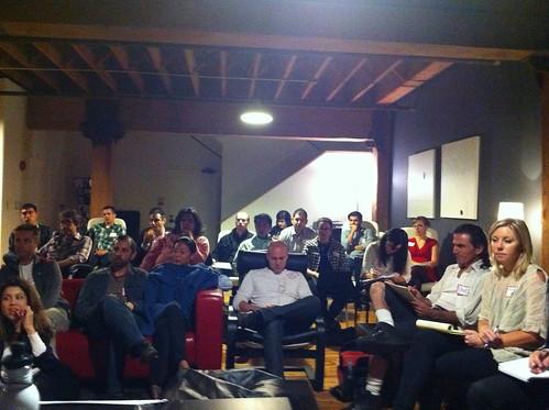 Social Media Week Panel Audience