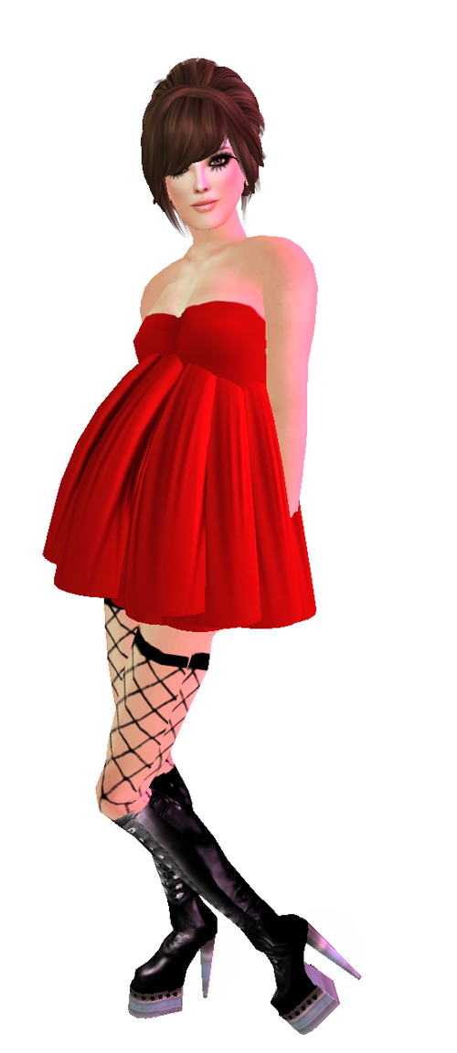 :: fore :: (gift) chibi + red tunic + !MM! Mascara Pale on Hump Day! 69l! + [Raspberry Aristocrat] Jess Hair - (red seal hunt, gift)