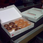 Krispy Kremes at Digg - Just Because thumbnail