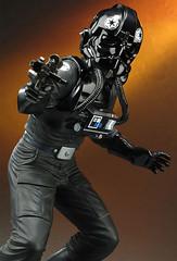 Piloto de TIE Fighter (Acero y Magia) Tags: starwars tiefighter figura piloto