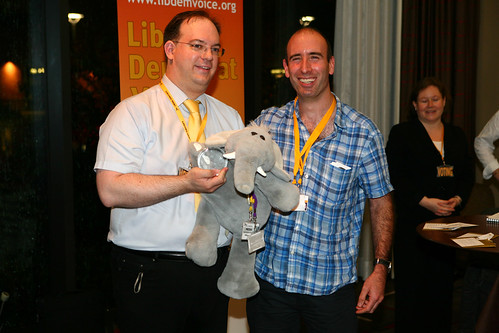 Lib Dem Blog of the Year 2010: Millennium Dome Elephant by Richard Flowers