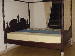 Bed Wood เตียงไม้สัก
