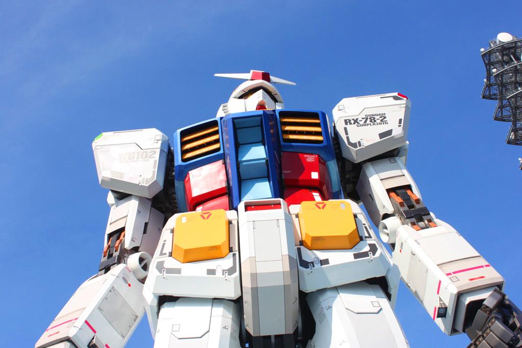 Real Size GUNDAM moved to Shizuoka (4)