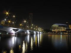 night lights (zoan) Tags: singapore nightshot esplanade marinabay twinklinglights