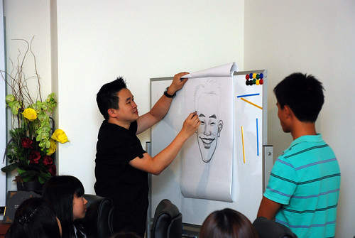 Caricature Workshop for Spire Research & Consulting - 35