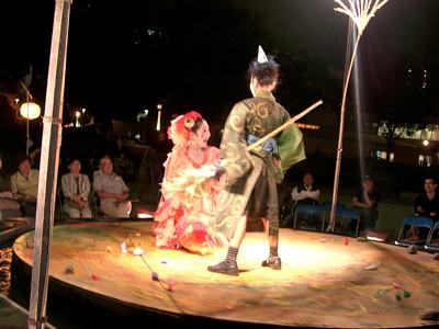 楽市楽座 「鏡池物語」大阪公演
