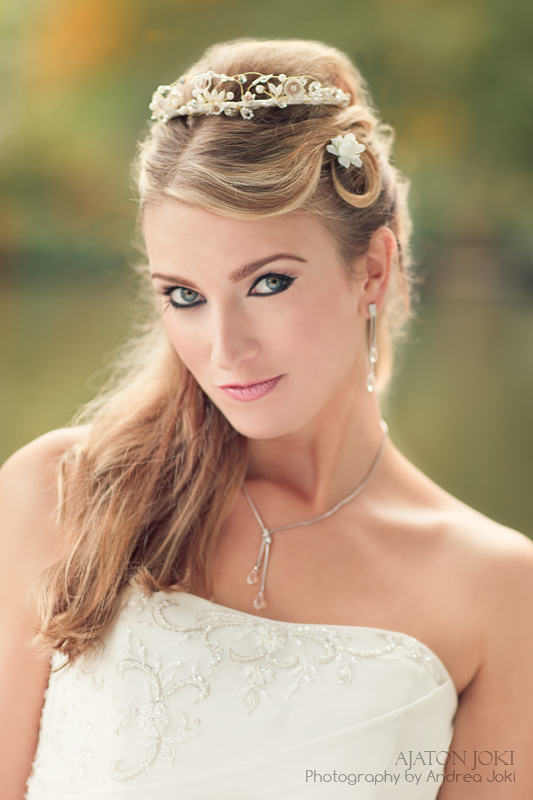 Finnish bride beauty image