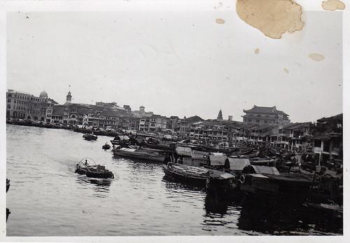 Singapore, boat quay.