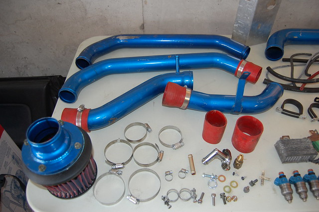 MINT Apexi Turbo Kit + HKS B series manifold + PTE + FMIC | ClubCivic.com - Your Online Civic ...