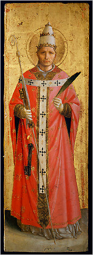 Saint Sixtus, circa 1453–54, Fra Angelico