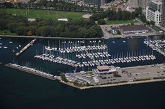 Aerial view of National Yacht Club #2