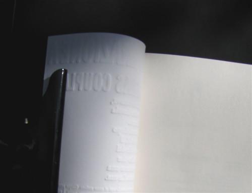 Generazione A, di Douglas Coupland, nella versione di Marco Pensante, Isbn 2010; grafica di Alice Beniero: verso della copertina (part.), 1