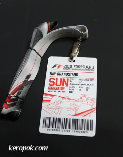 2010 Formula 1 Singtel Singapore Grand Prix
