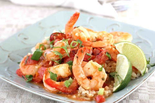 Pam Anderson's Spicy Coconut Shrimp Stew Recipe - Cookin Canuck