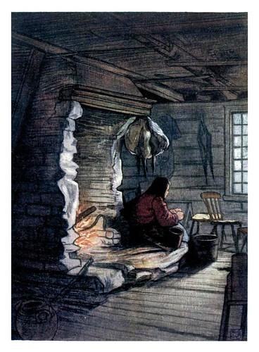 001-Preparando la cena en Saelbo-Norway 1905 -Nico Jungman