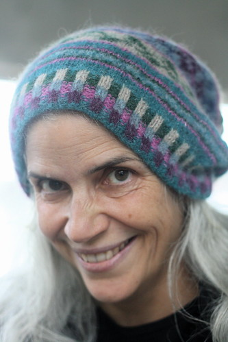 Vogue Fair Isle Hat in Felted Tweed