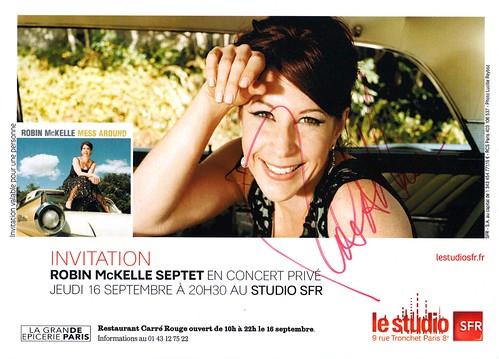 Robin McKelle autographe