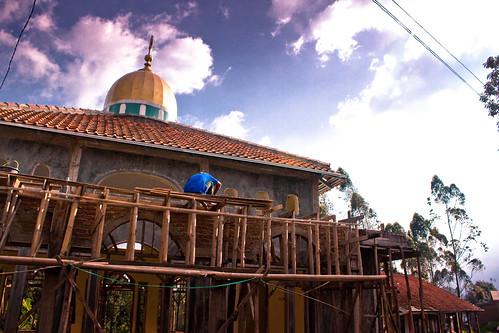 2 Hari Bersama Dato Shahidan Kassim :: Masjid yang dibina semula ::