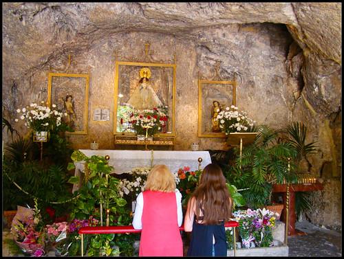 Virgen de la Peña en Mijas