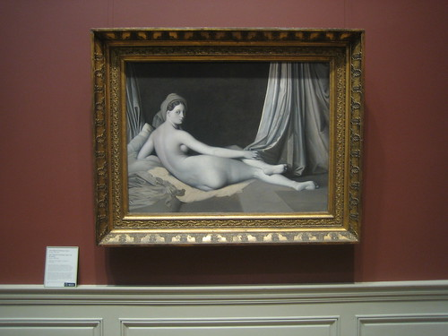 Odalisque in Grisaille, c. 1824-34, Jean-Auguste-Dominique Ingres and Workshop _8409