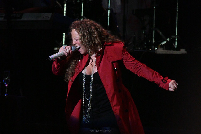 Mariah Carey in Singapore by kazeeee
