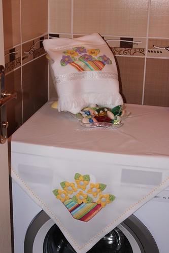 banyo havlusu çamaşır makine örtüsü