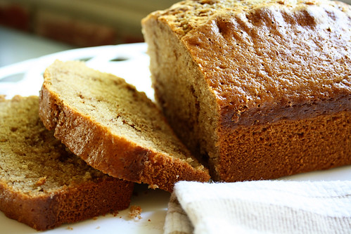 cinnamon bread, sliced
