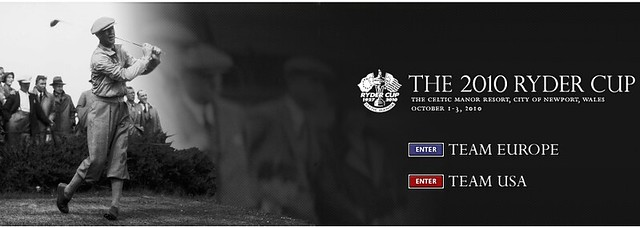 Ryder cup home page